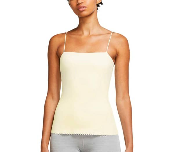 NIKE Yoga Luxe Eyelet Women Sports-Top - 1