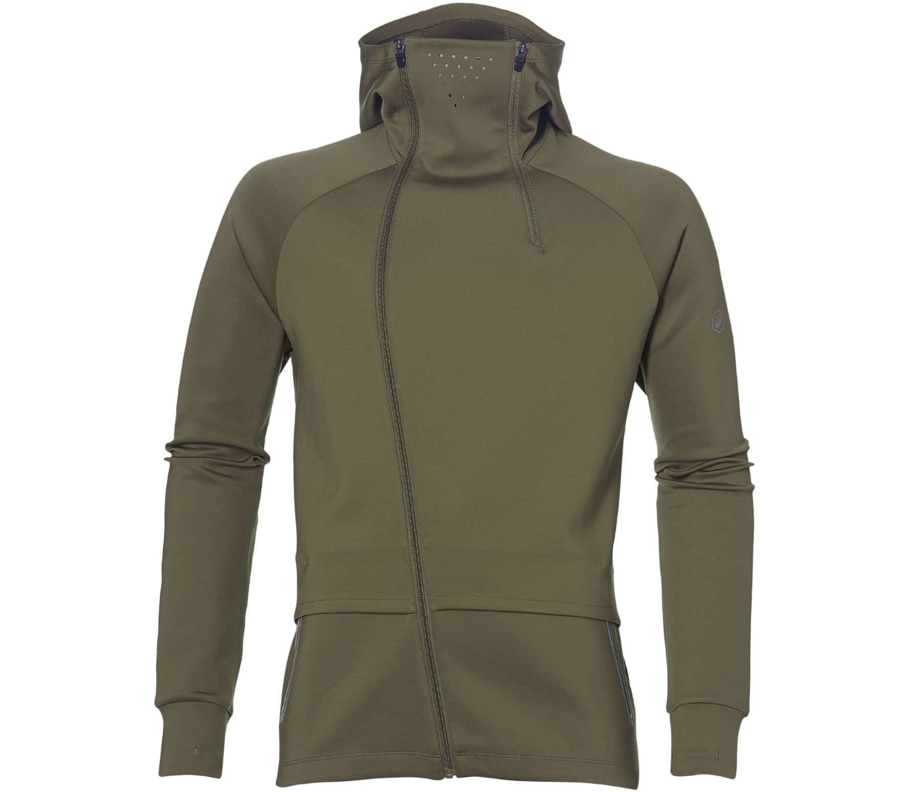 ASICS - FuzeX Knit men's running jacket (khaki) - S thumbnail