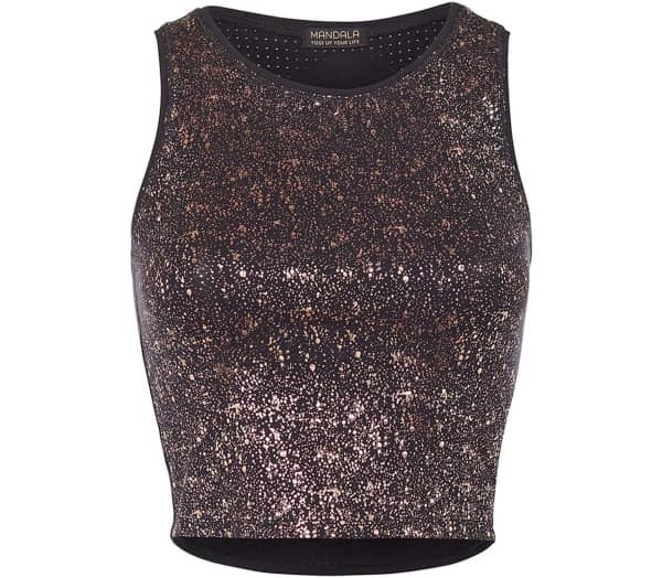MANDALA Sparkling Women Yoga Top - 1