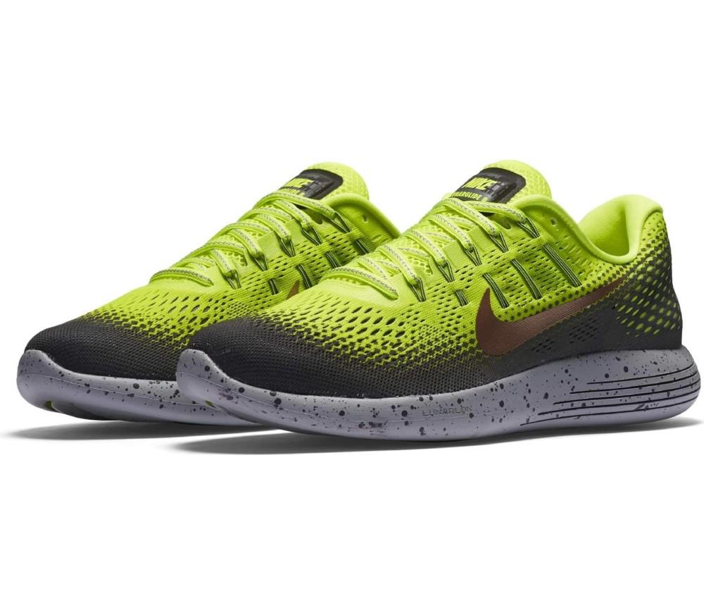 ff15da61e05d8 Nike - LunarGlide 8 Shield men s running shoes (grey yellow) - buy ...