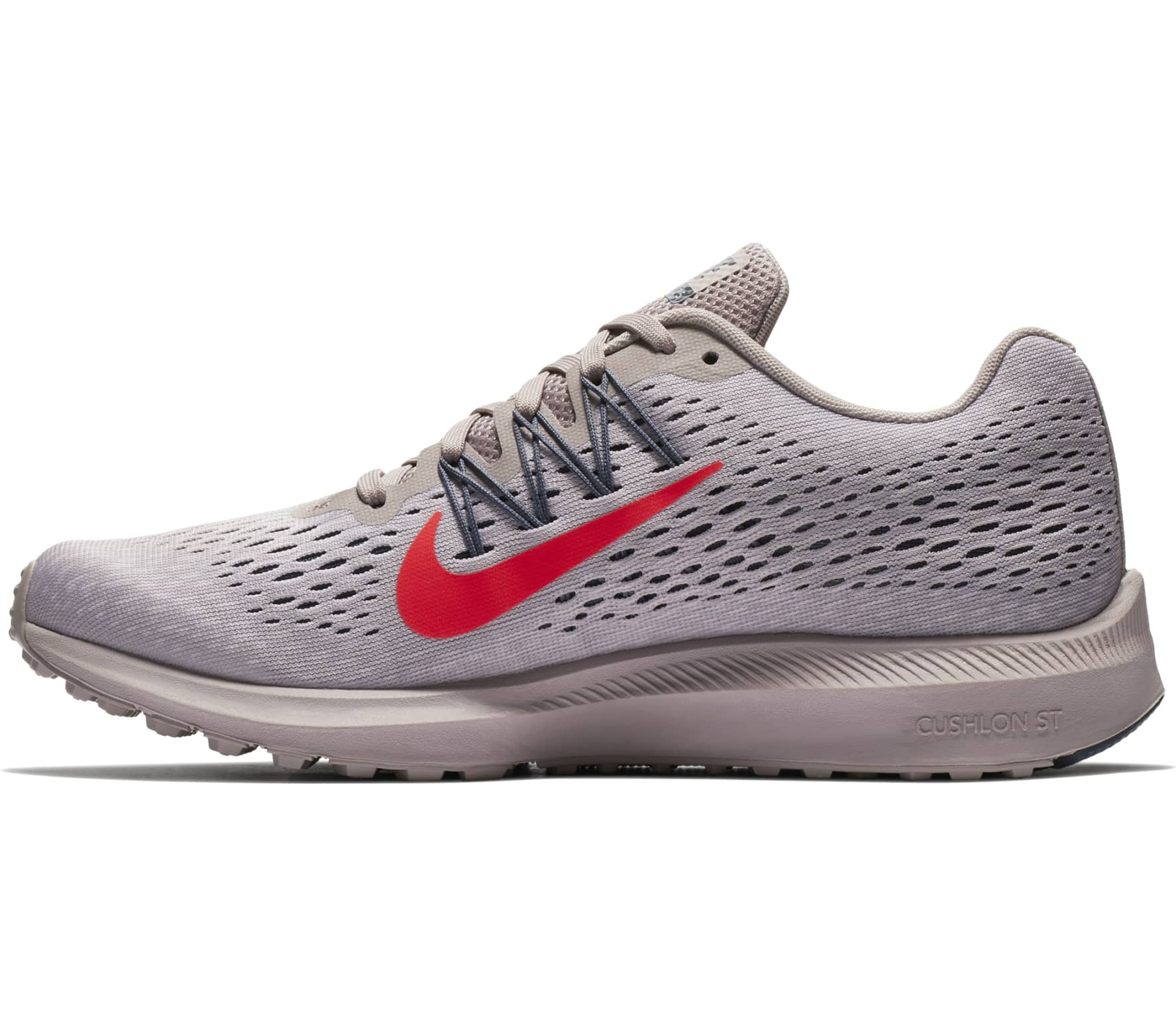 Nike - Air Zoom Winflo 5 women's running shoes (grey/red ...