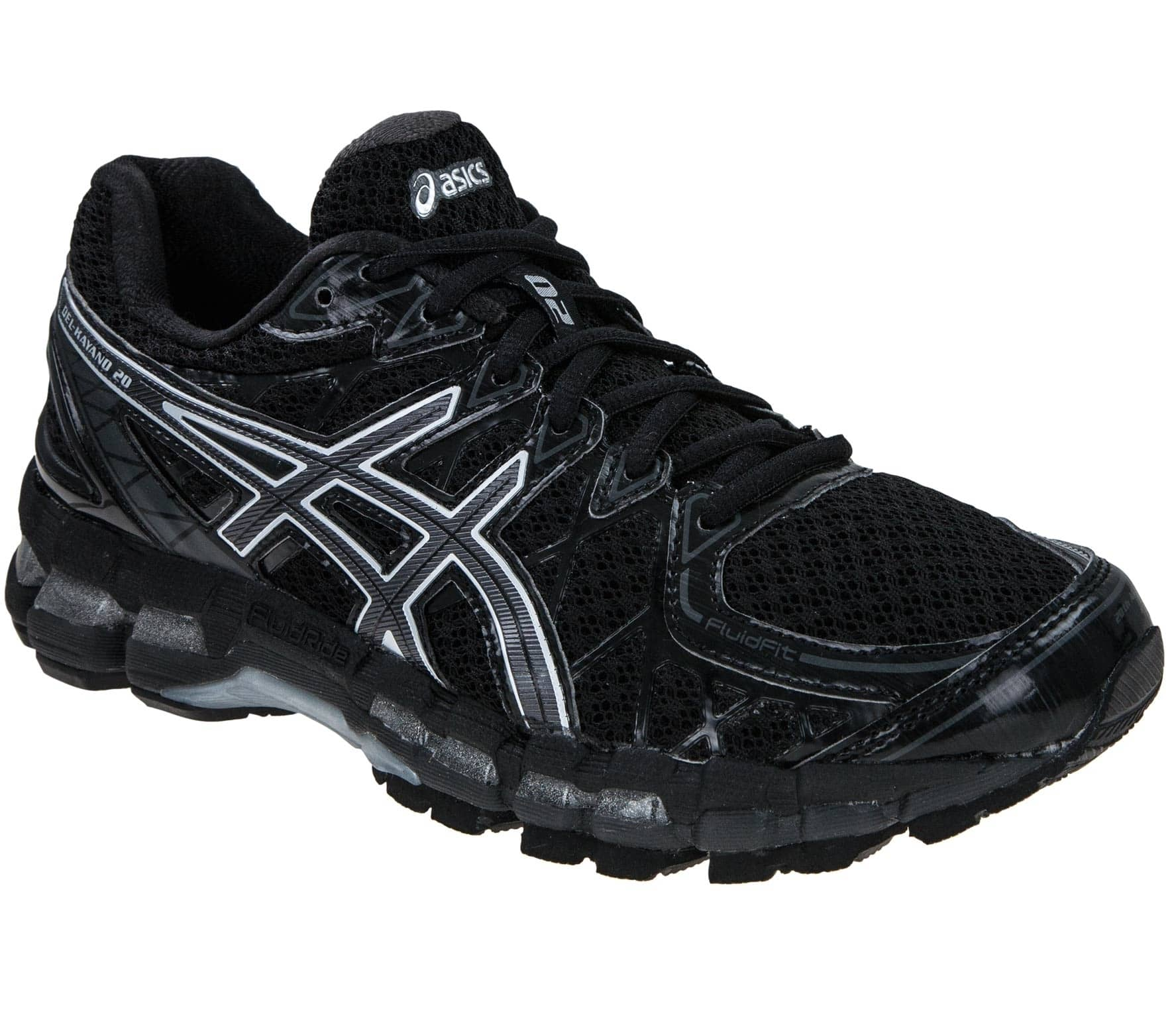 new style 3ba42 4f7ad Asics - Gel-Kayano 20 women s running shoes (black)
