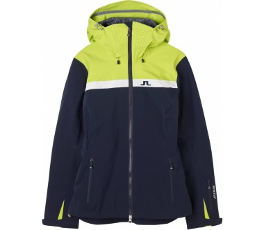 J.Lindeberg - Harper 3L GoreTex women's ski jacket (dark blue/light green)