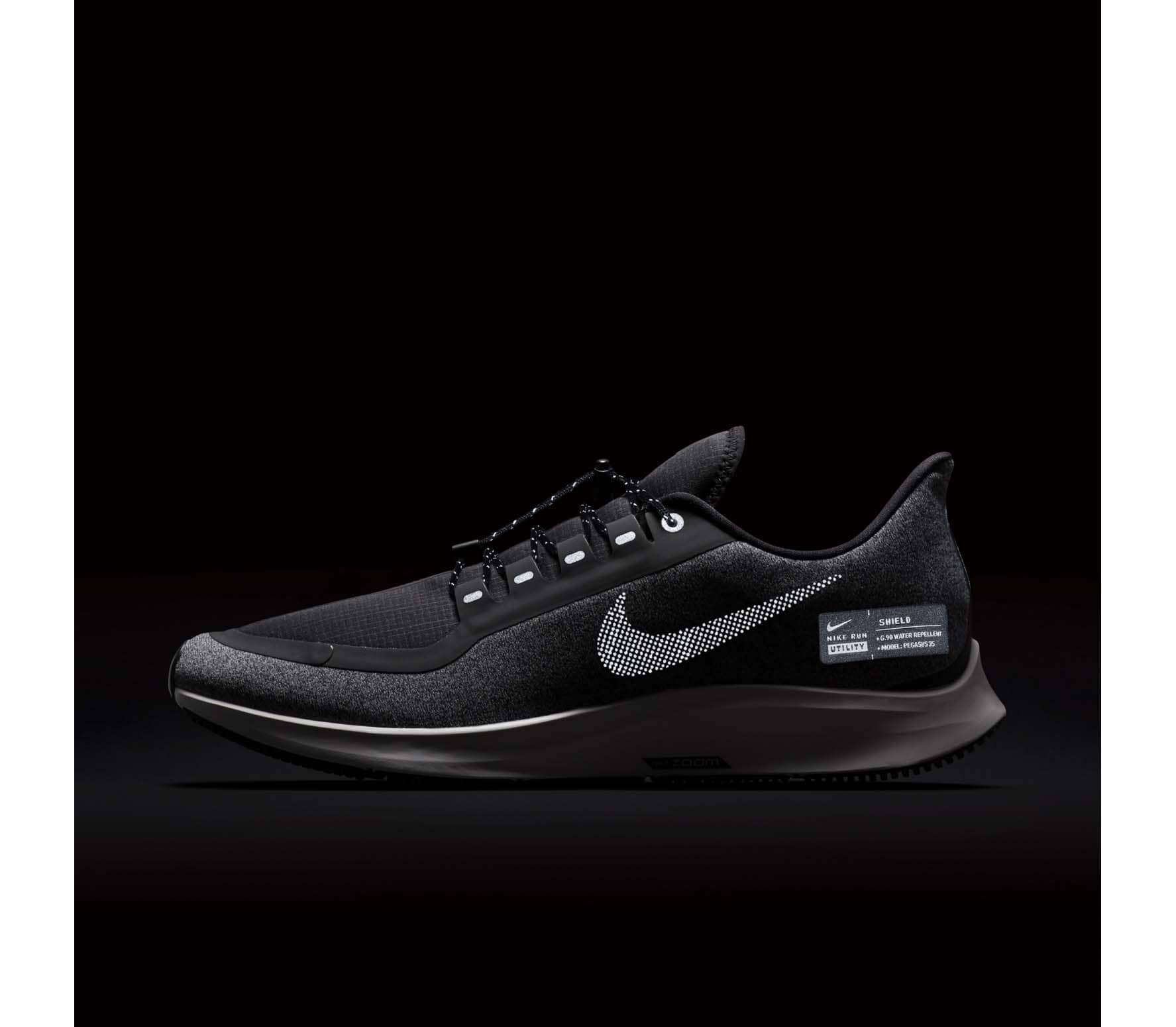 Nike - Air Zoom Pegasus 35 Shield men s running shoes (grey) - buy ... 52b3a1cf93a