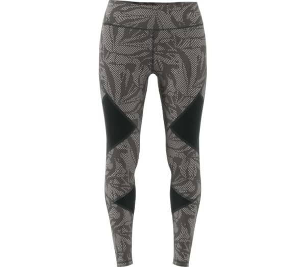 ADIDAS Believe This High-Rise Linear Floral Mesh Women Training Tights - 1