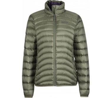 Marmot - Aruna Hoody women's down jacket (dark green)