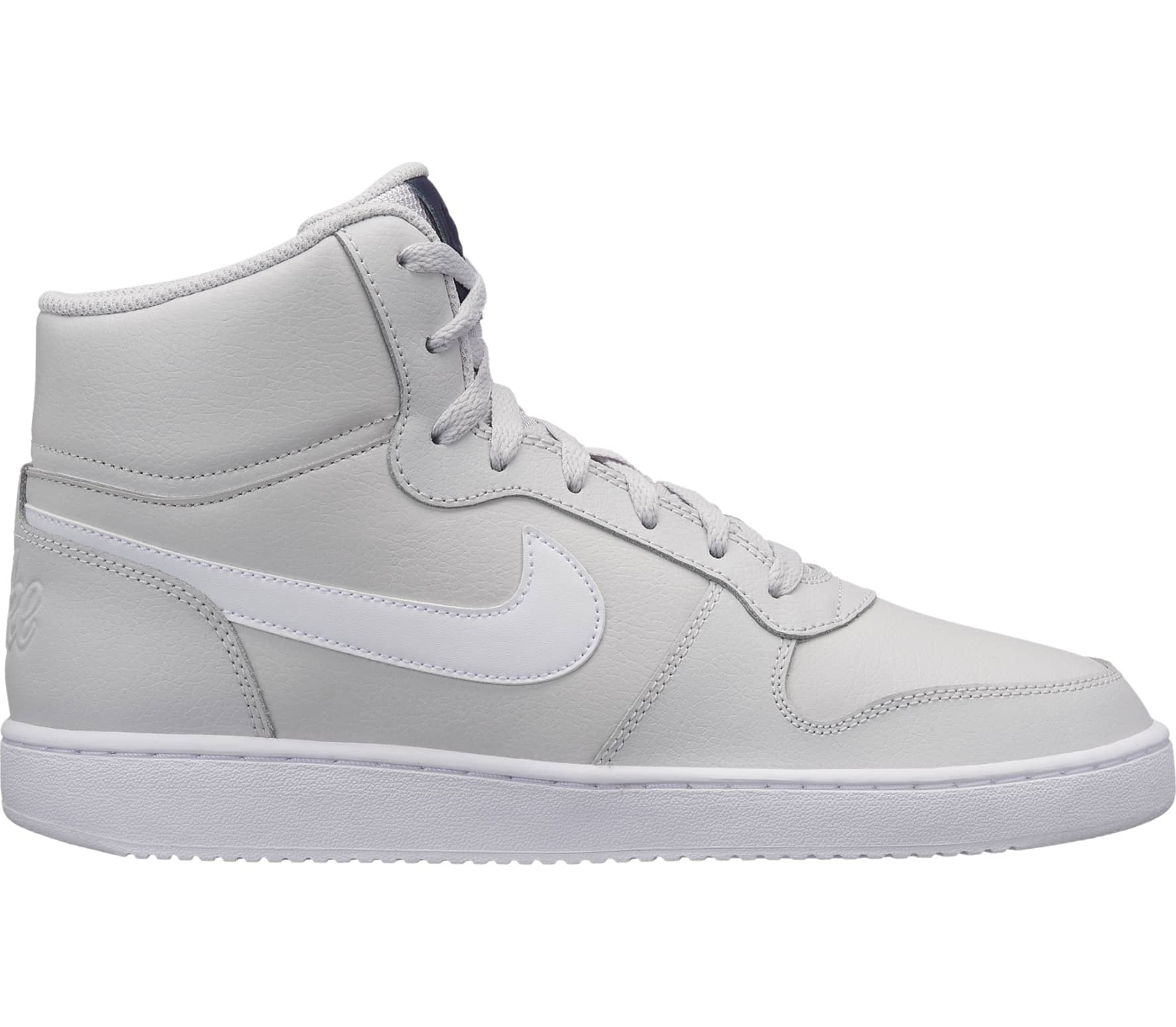 Details about Nike Ebernon Mid Hi Top Trainers Mens Athleisure Footwear Shoes Sneakers