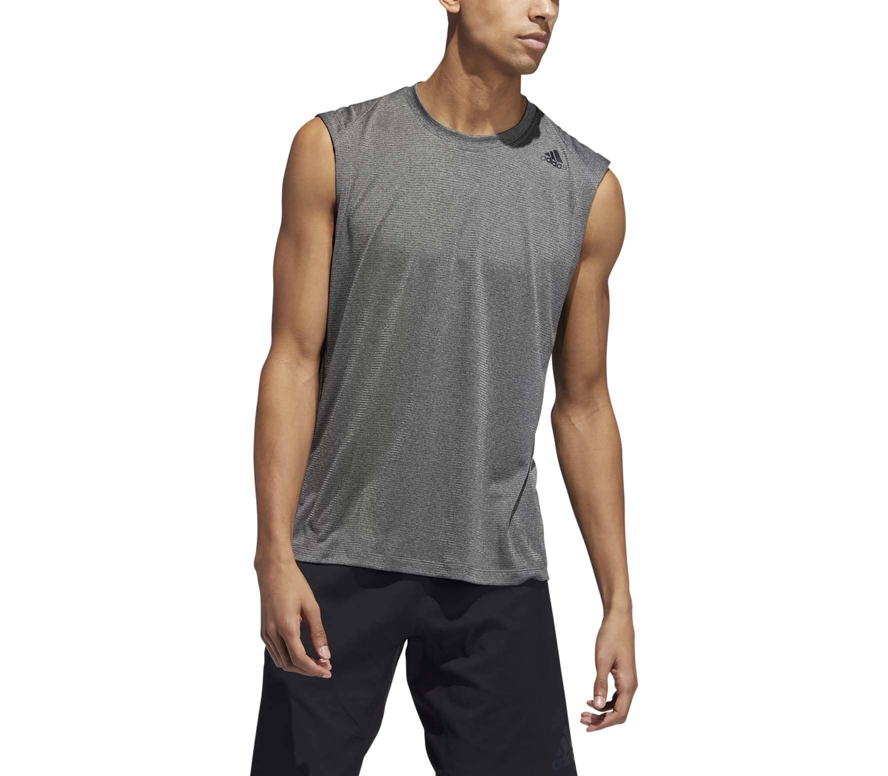 adidas FreeLift Tech Climacool 3-Streifen Men Training Tank Top grey