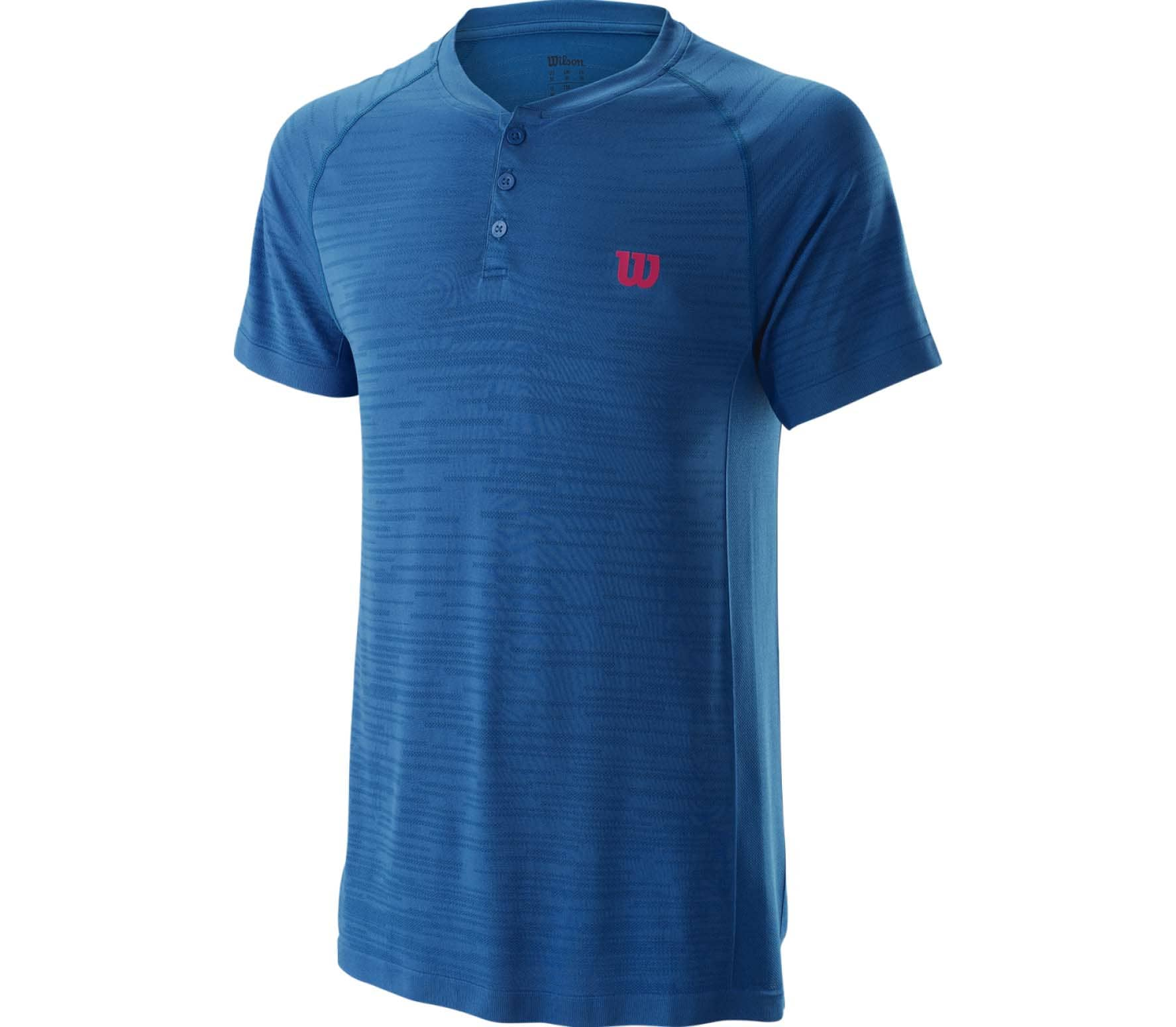 Competition Seamless Henley Hommes Haut tennis