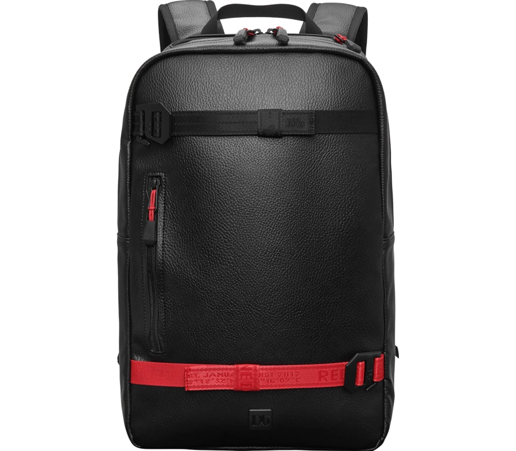 Douchebags Red Webbing Scholar Daypack Unisex red