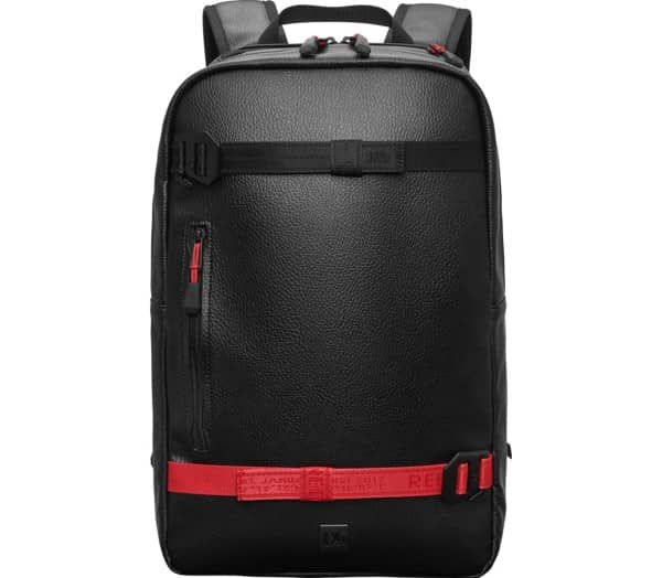 DOUCHEBAGS Red Webbing Scholar Daypack - 1