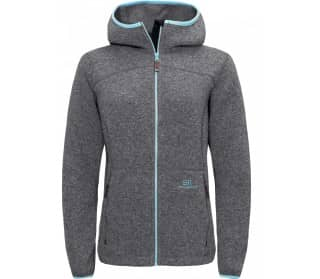 Argentière Hood Women Fleece Jacket