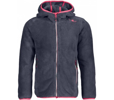 CMP Fix Hood Junior Fleecejacke Niños plateado