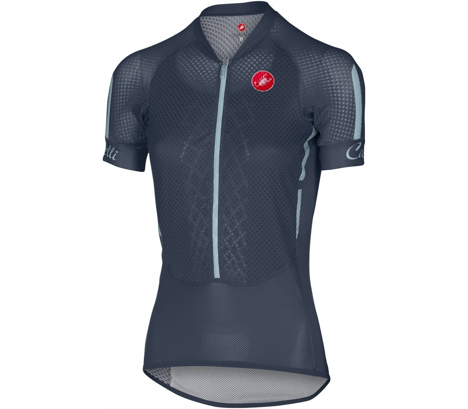 castelli climber 39 s jersey damen bike trikot dunkelblau. Black Bedroom Furniture Sets. Home Design Ideas