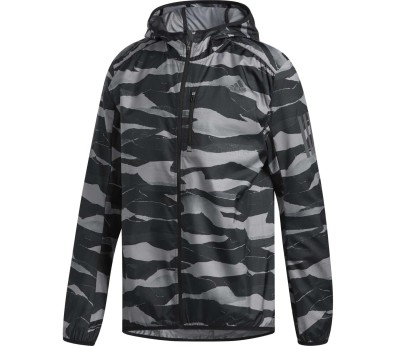 adidas Performance - Own The Run Hommes veste de course (noir/gris)