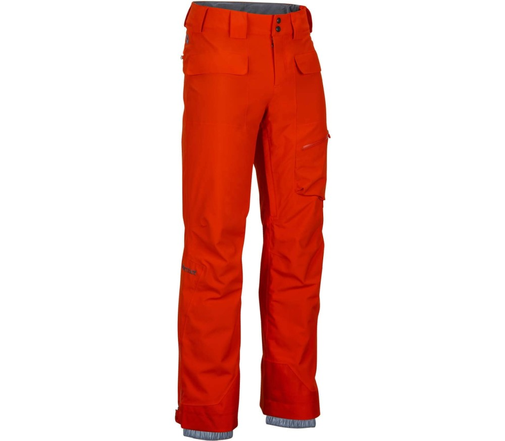 marmot insulated mantra herr ka skidor pants orange handla online p keller sports. Black Bedroom Furniture Sets. Home Design Ideas