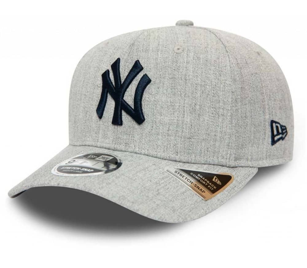 Heather Base 9Fifty Stretch Snap New York Yankees Men Cap