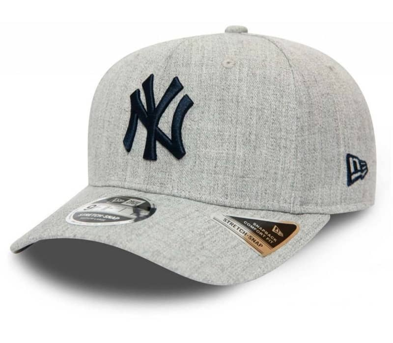 Heather Base 9Fifty Stretch Snap New York Yankees Hommes Casquette