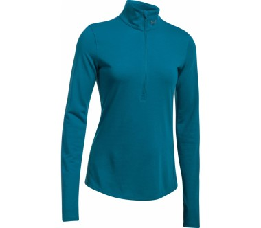 Under Armour - Threadborne Streaker Half-Zip Longsleeve t-shirt de running pour femmes (bleu)