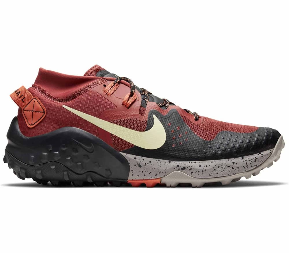 NIKE Wildhorse 6 Men Running Shoes (red black grey) 119,90 €