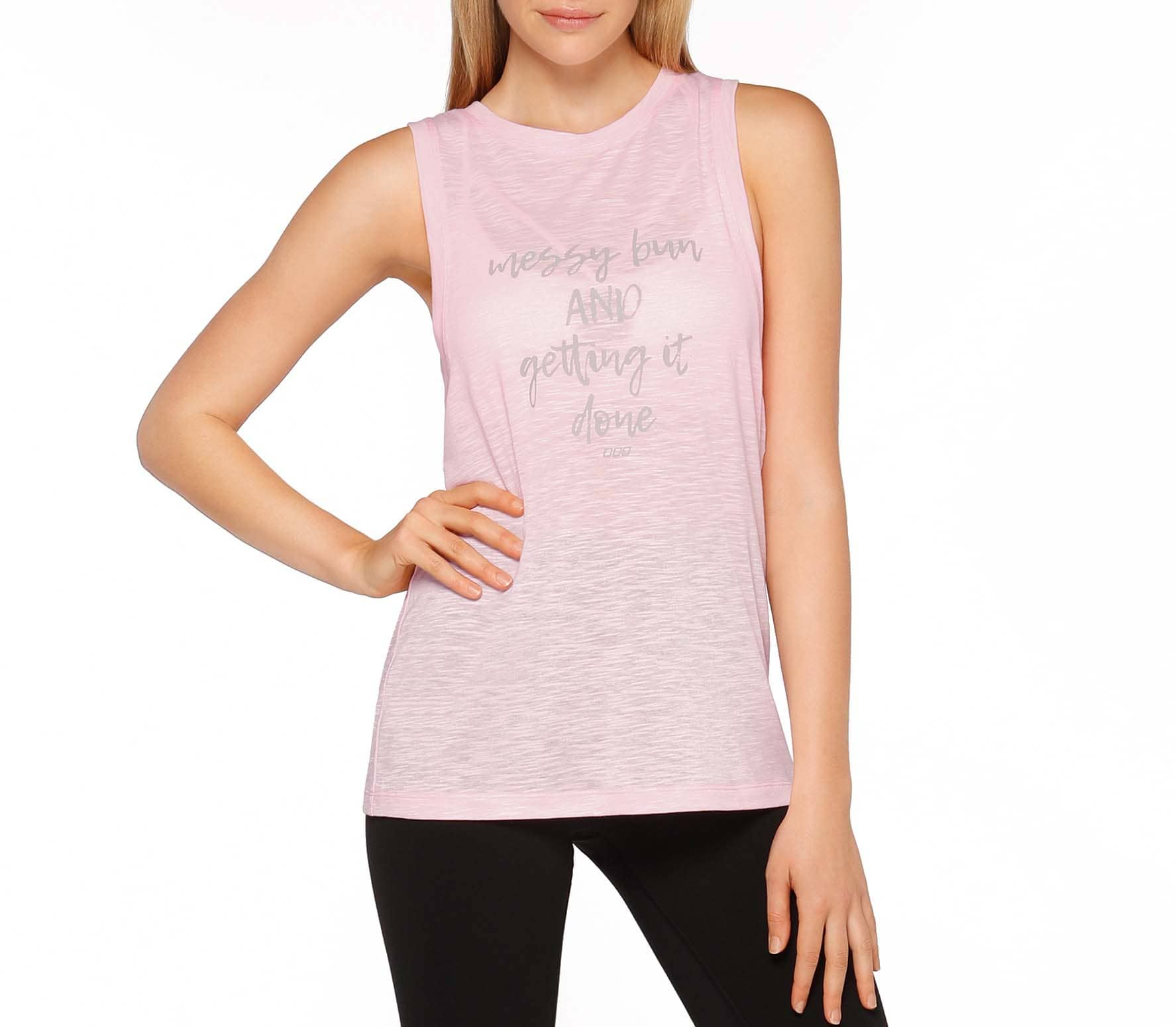 Lorna Jane - Getting It Done women's training tank top top (pink)