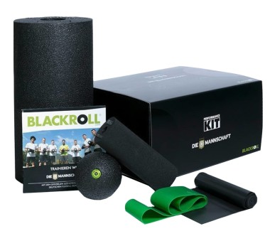 Blackroll - Die Mannschaft Performance kit (black)