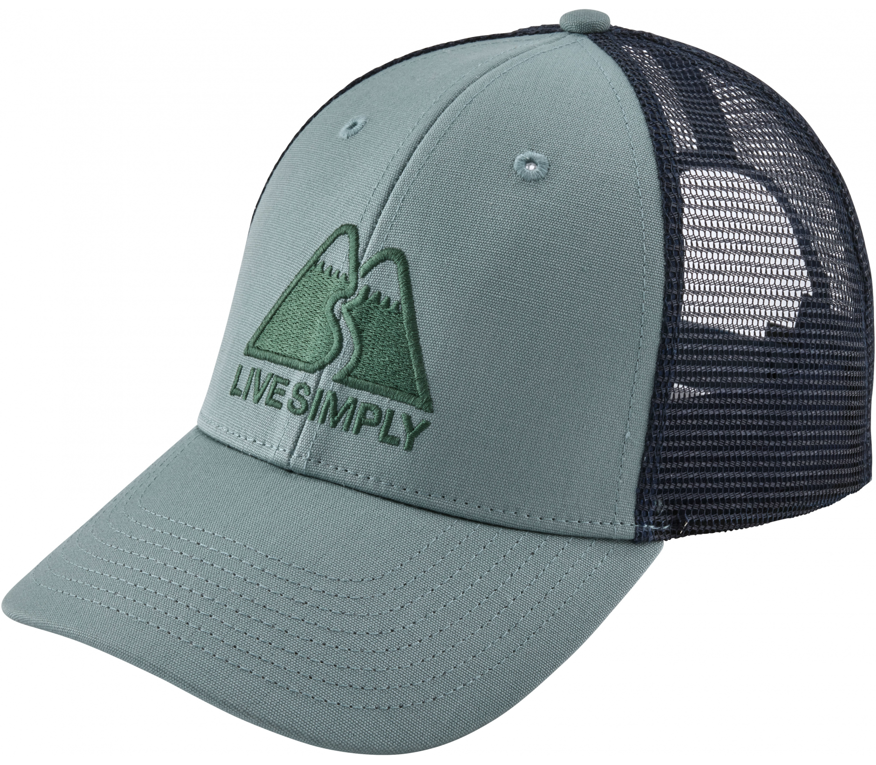 Patagonia - Live Simply Winding LoPro Trucker cap (grey)