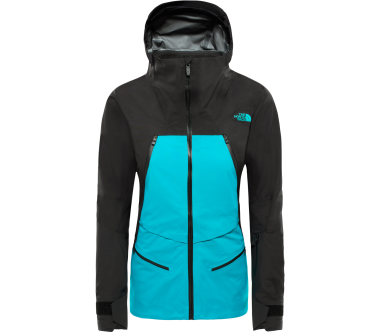 The North Face - Purist Damen Skijacke (schwarz/türkis)