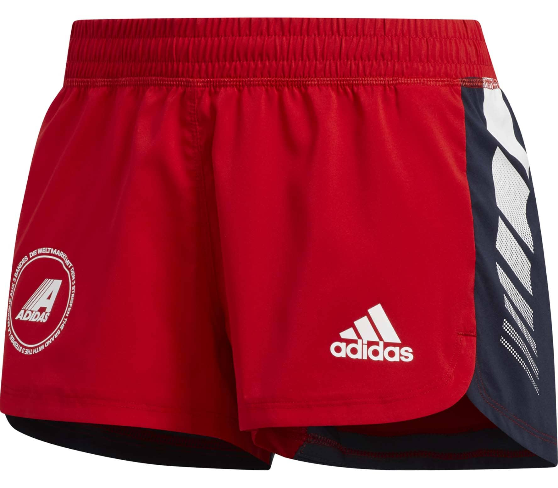 adidas training rouge