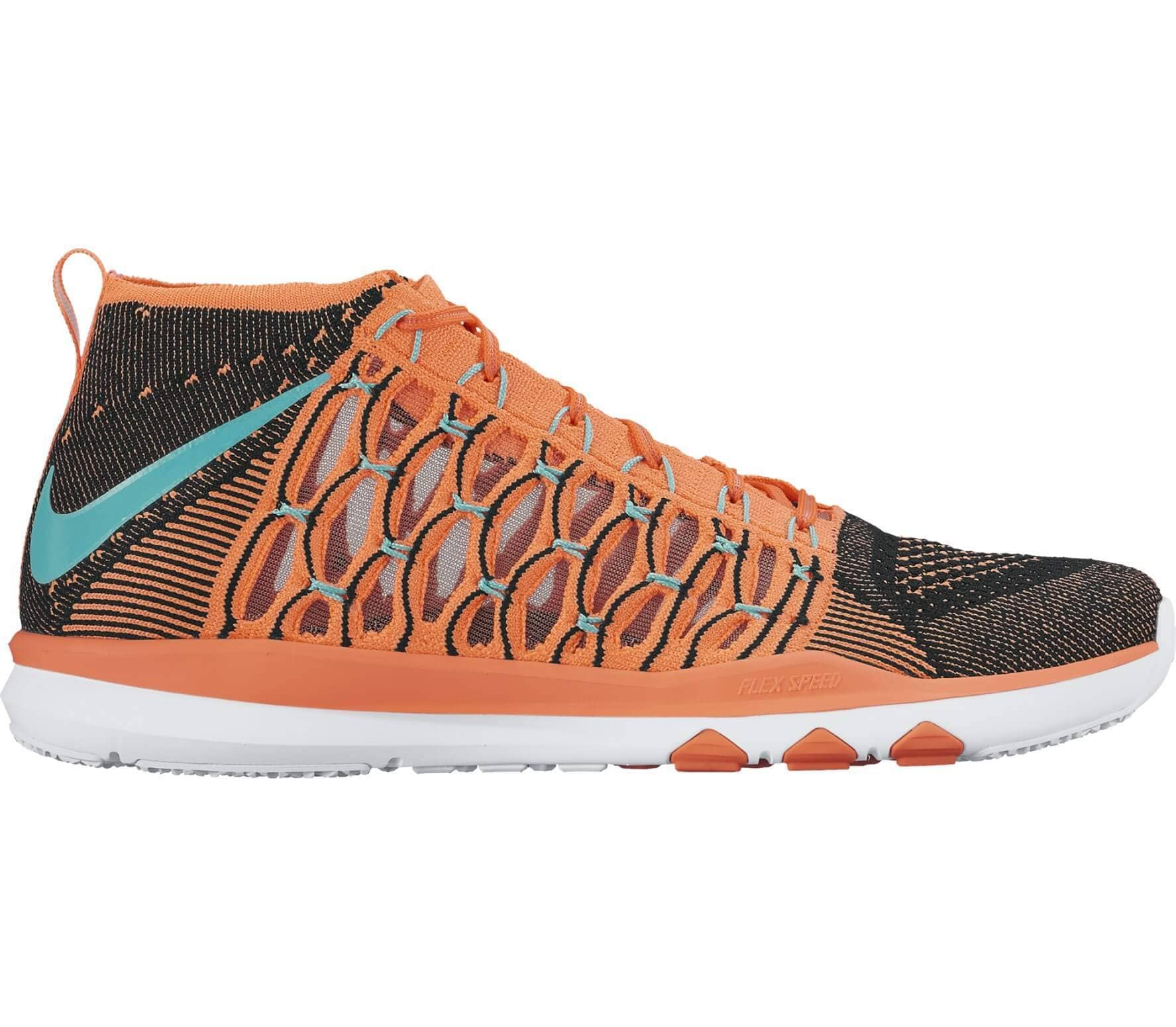 the best attitude 5db0b e6a3b Nike - Train Ultrafast Flyknit men s training shoes (brown black)