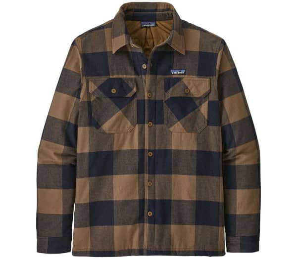 PATAGONIA Insulated Organic Fjord Flannel Men Outdoor-Jacket - 1