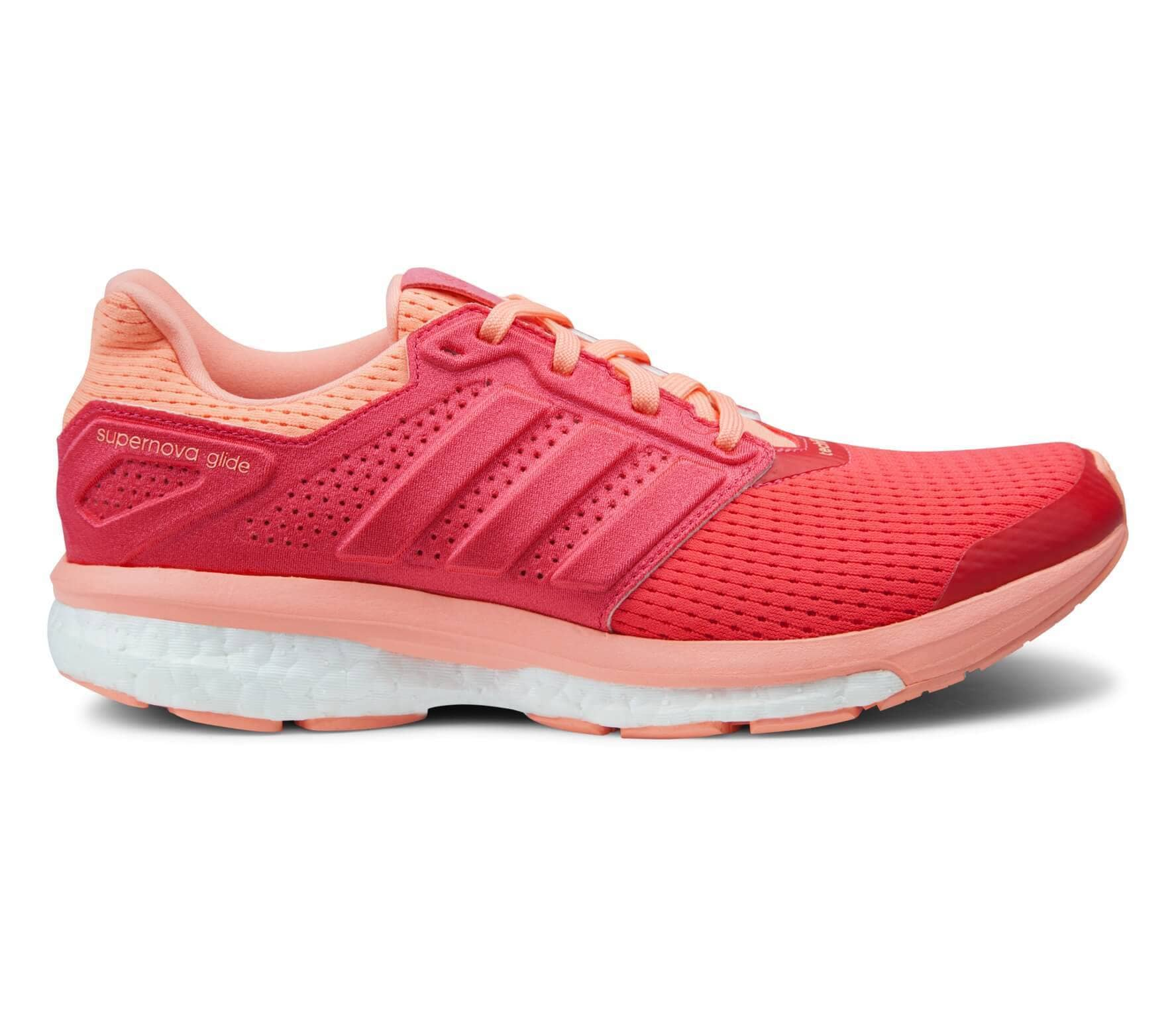 Adidas - Supernova Glide Boost 8 women's running shoes (red)
