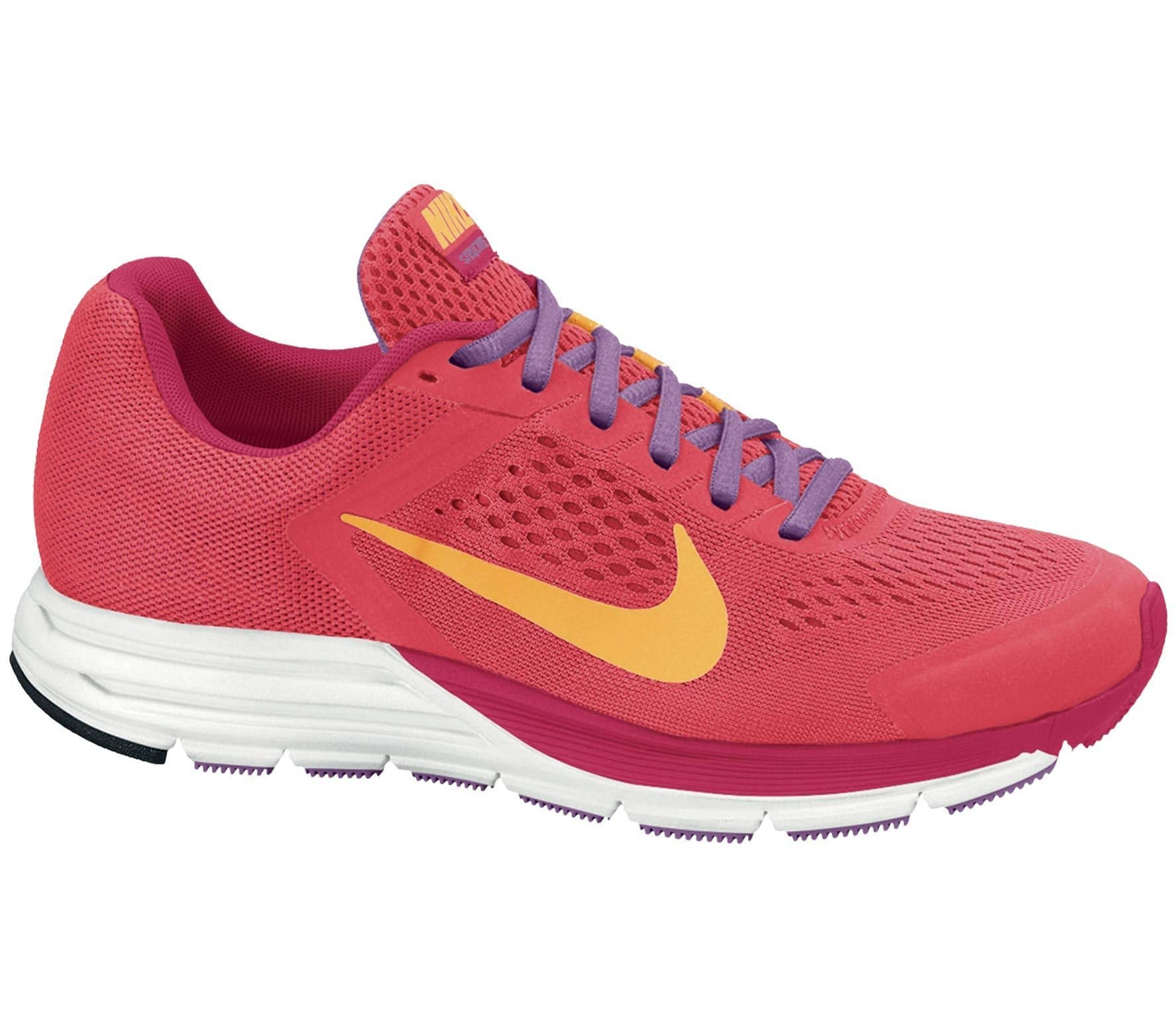 fe757cf72da ... reduced nike zoom structure 17 womens running shoes red orange 1ae54  3359e