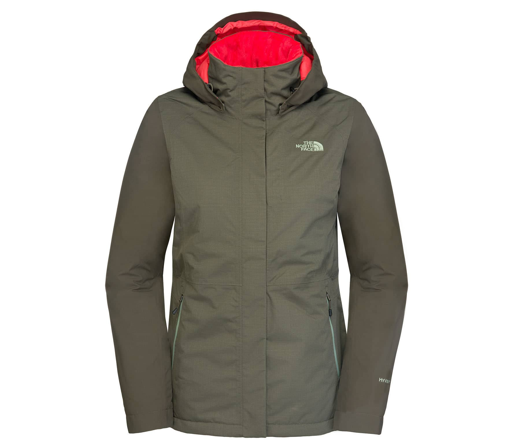 the north face inlux insulated damen regenjacke gr n im online shop von keller sports kaufen. Black Bedroom Furniture Sets. Home Design Ideas