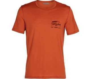 Icebreaker Tech Lite Crewe The Good Life Uomo T-shirt