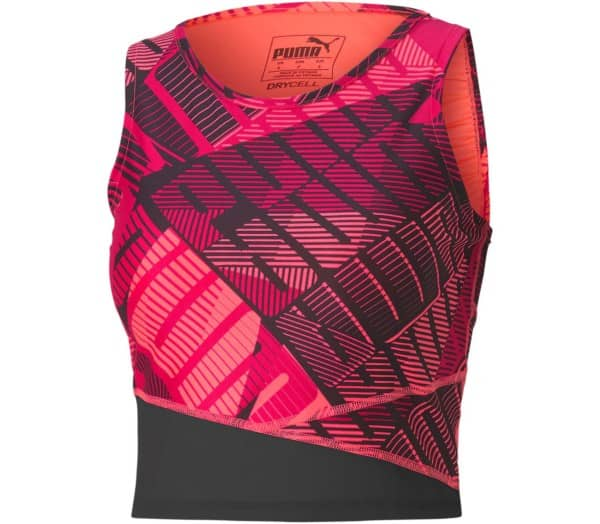 PUMA Be Bold AOP Crop Damen Top - 1
