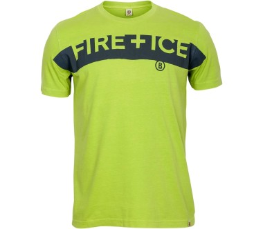 Bogner Fire   Ice - Cedric men's outdoor top (neon yellow)