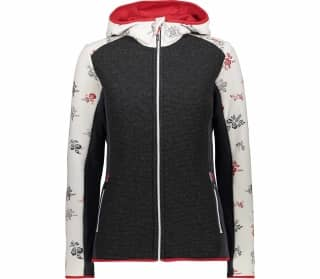 CMP Fix Hood Damen Fleecejacke