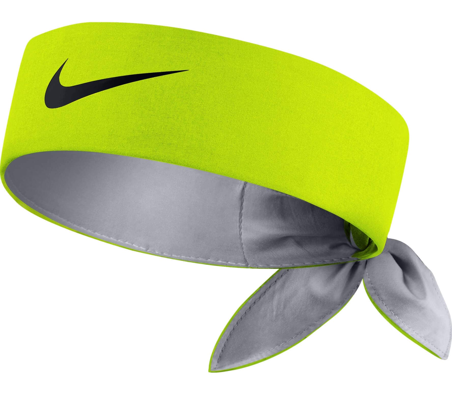 Yellow Nike Tennis Headband