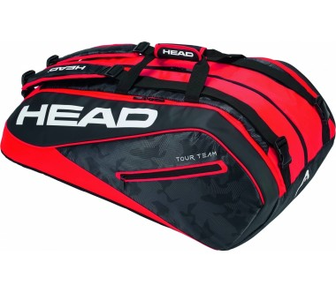 Head - Tour Team 12R Monstercombi Tennistasche (schwarz/rot)
