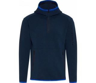 Logo hood tech sweat Herren