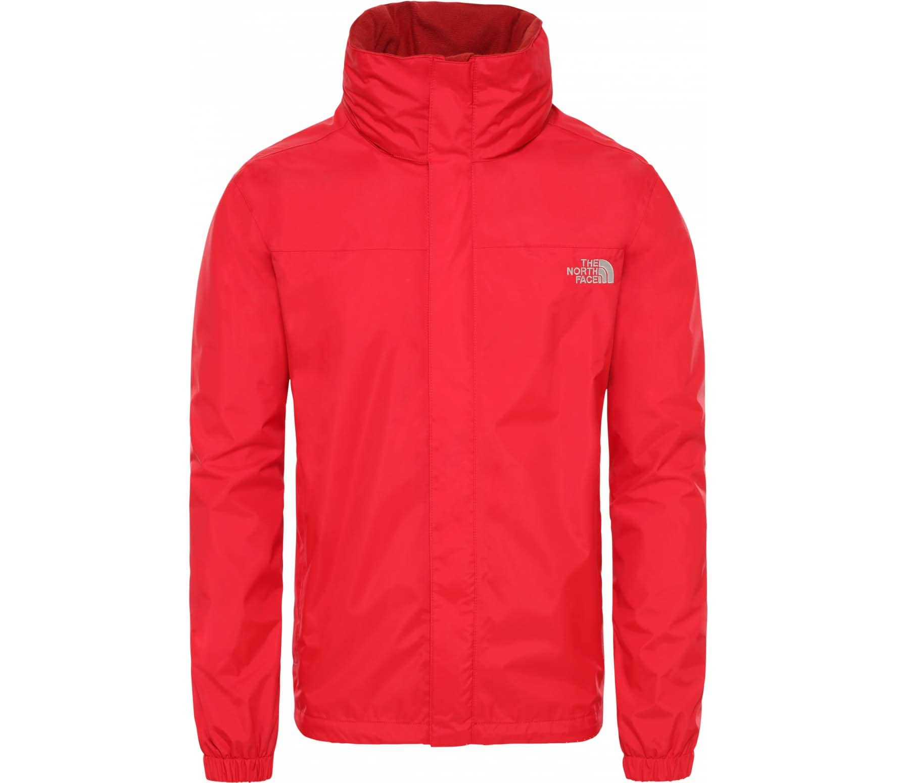 dc2cc2421 The North Face RESOLVE Men Rain Jacket red