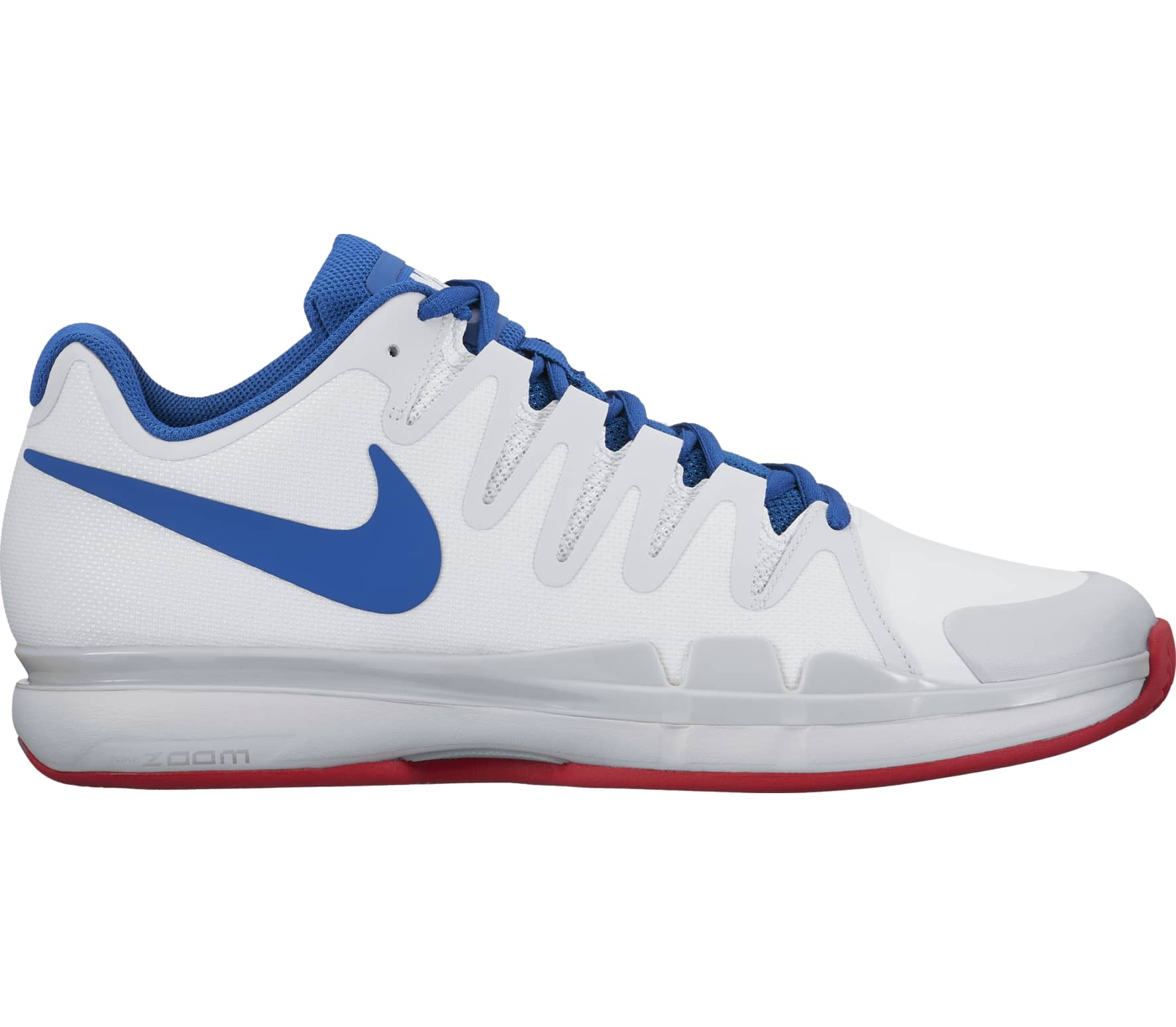 Tennis Vapor 9 Uomo Clay Scarpa Da Zoom Nike Tour 5 bianco Air xaRRqw4