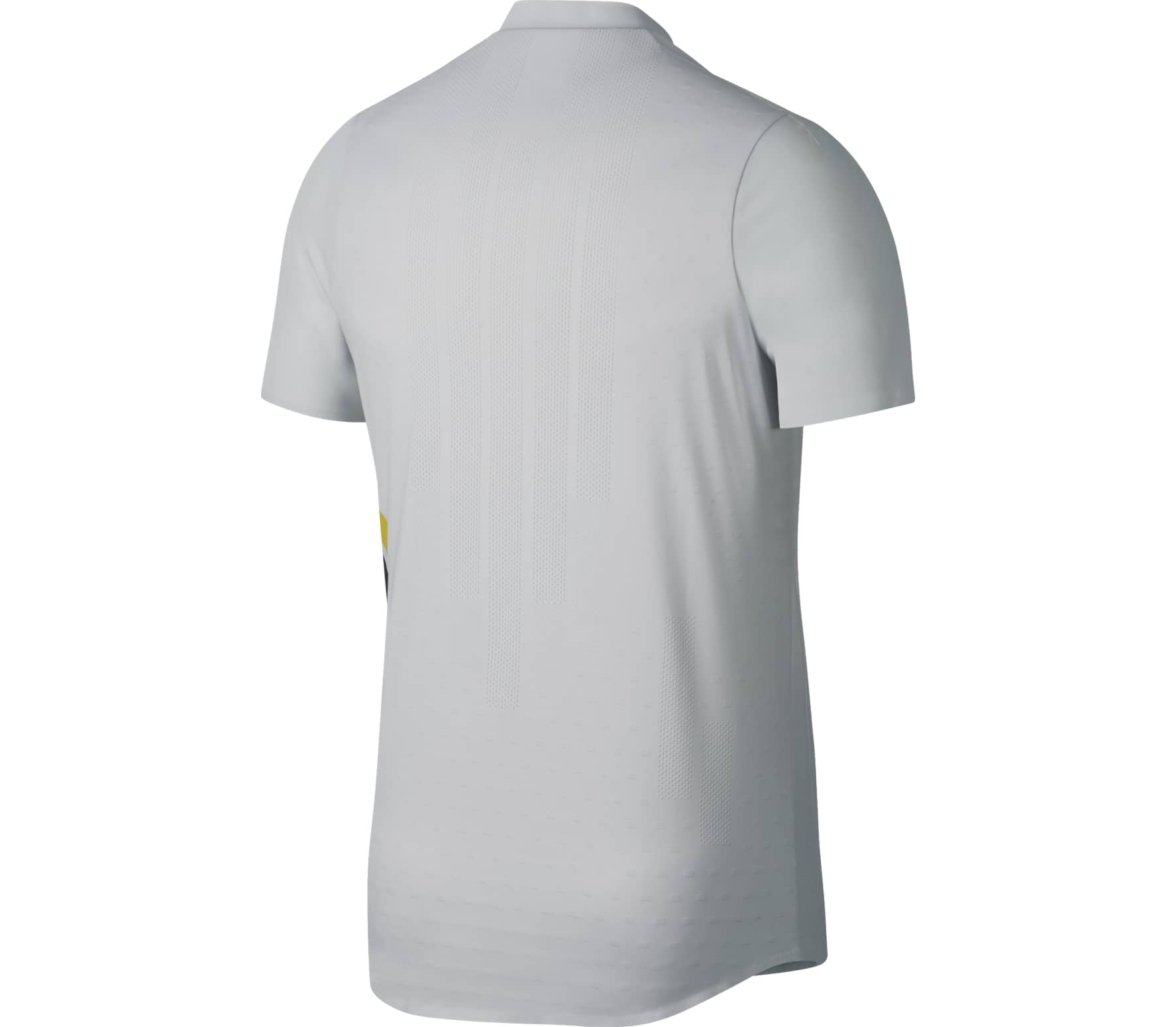 Nike - Advantage Court Zonal Cooling RF men s tennis polo top (light grey) 96847f7bd4e3