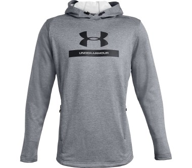Under Armour - MK1 Terry Graphic Herren Trainingshoodie (grau)
