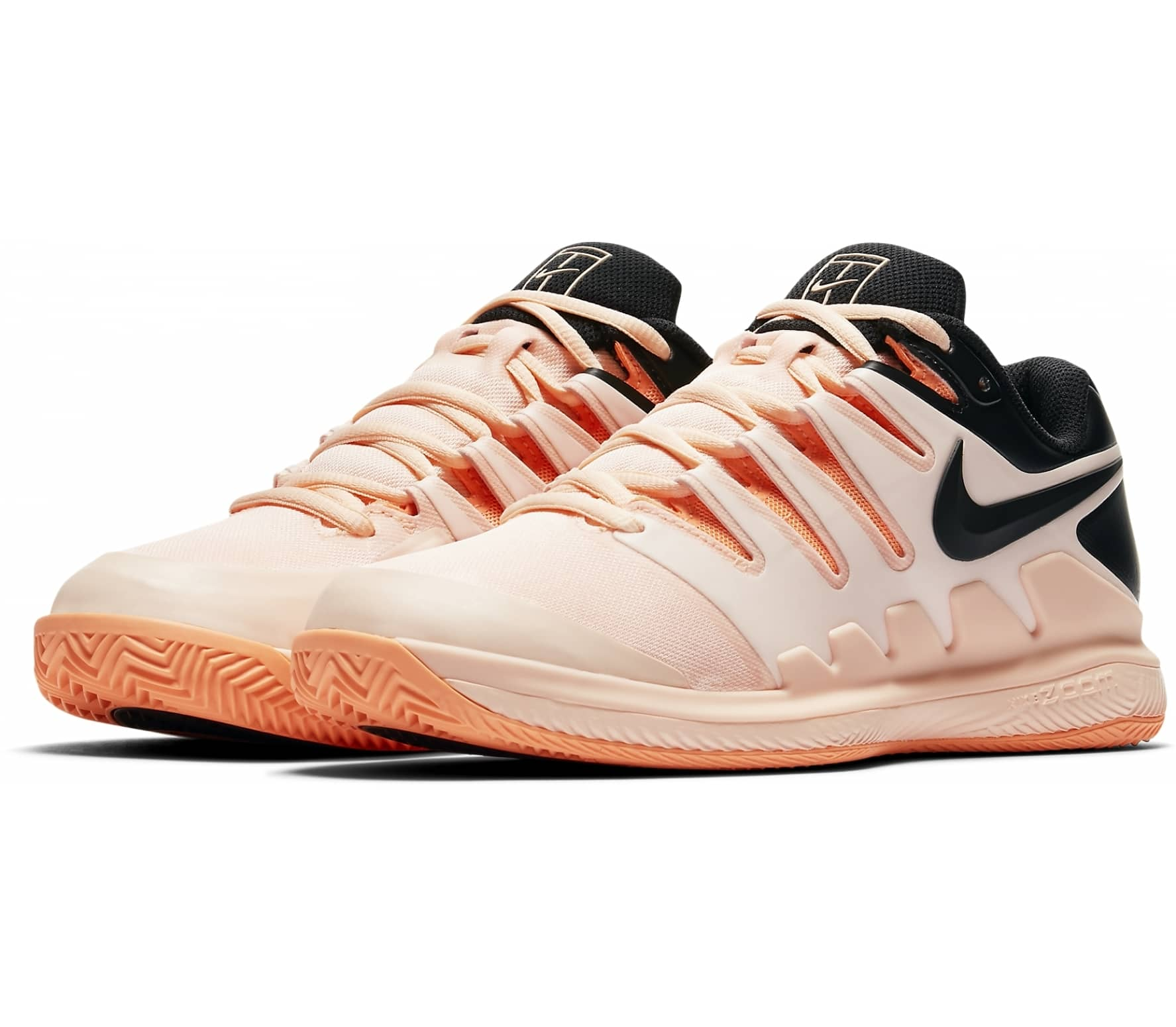 new style 18126 a9976 Nike - Air Zoom Vapor X Clay womens tennis shoes (hellorangeblack)