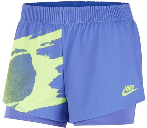 NIKE Slam Damen Tennis-Shorts - 1