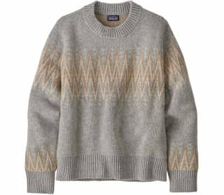 Patagonia Recycled Crewneck Donna Pullover da ersterno