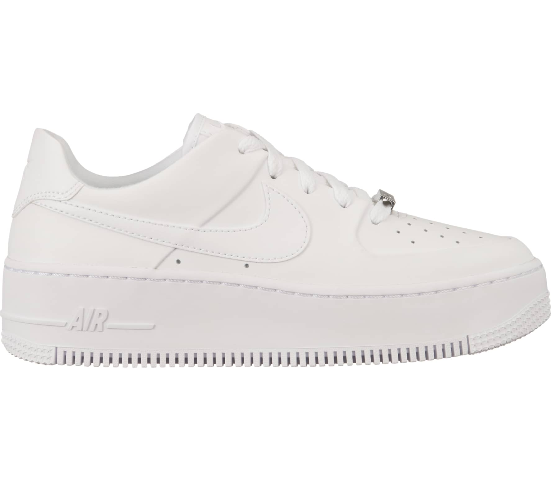 save off 80a3e 2e8ae Nike Sportswear - Air Force 1 Sage dames sneakers (wit)