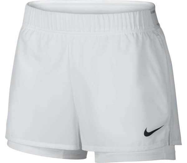NIKE Court Flex Damen Tennisshorts - 1